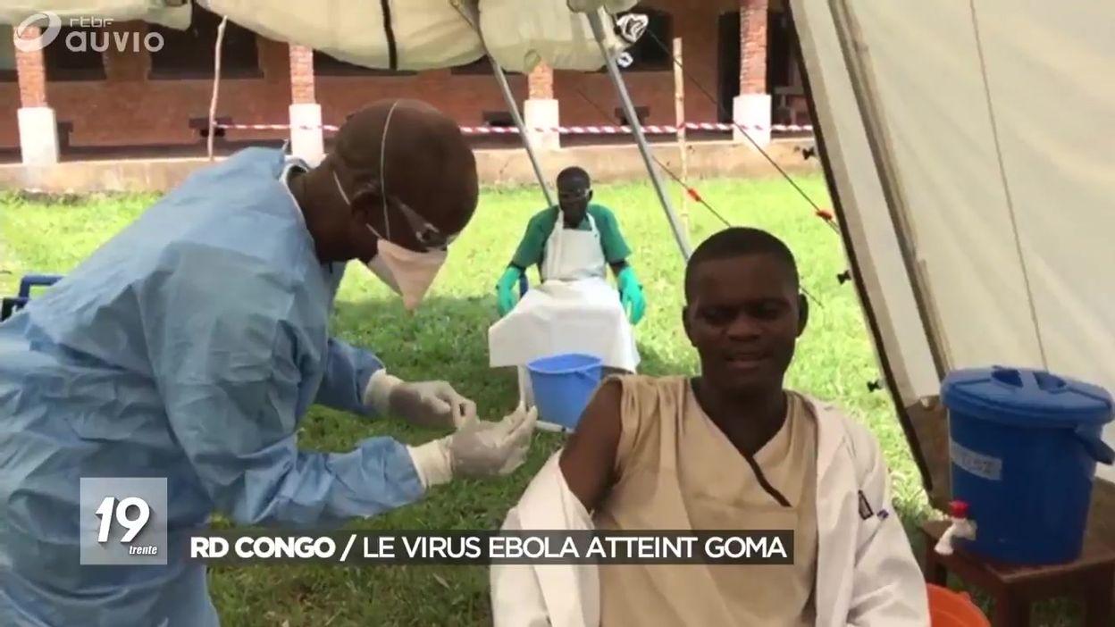 RDC : la fièvre Ebola s'empare de Goma