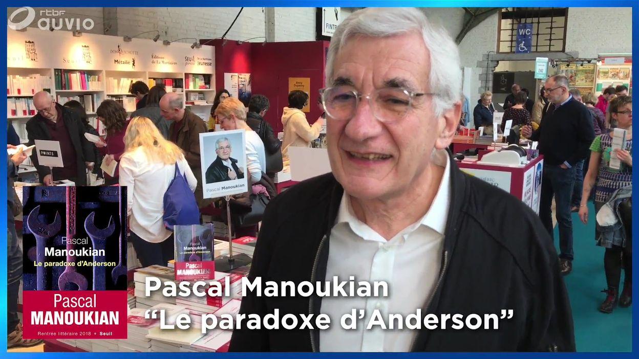 Pascal Manoukian à la Foire du livre