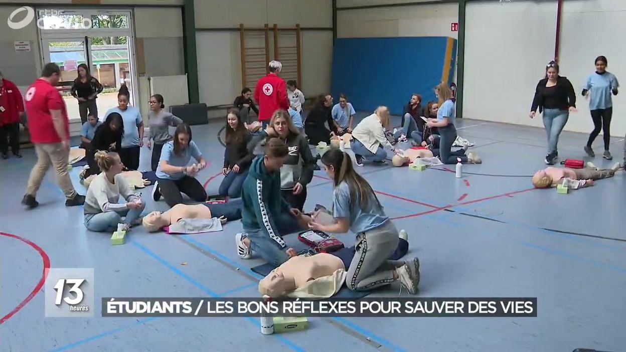 Étudiants : les bons réflexes pour sauver des vies