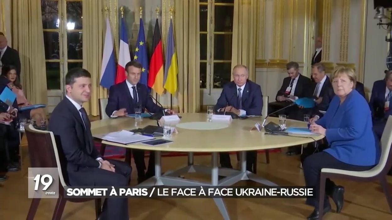 Sommet à Paris : le face à face Ukraine-Russie