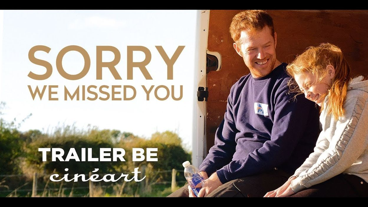 Sorry We Missed You - Trailer BE Sortie-Release 30 10 2019