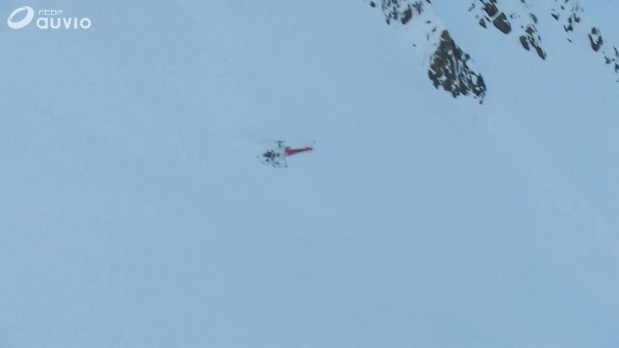 Suisse: recherches par hélicoptère dans les montagnes valaisannes