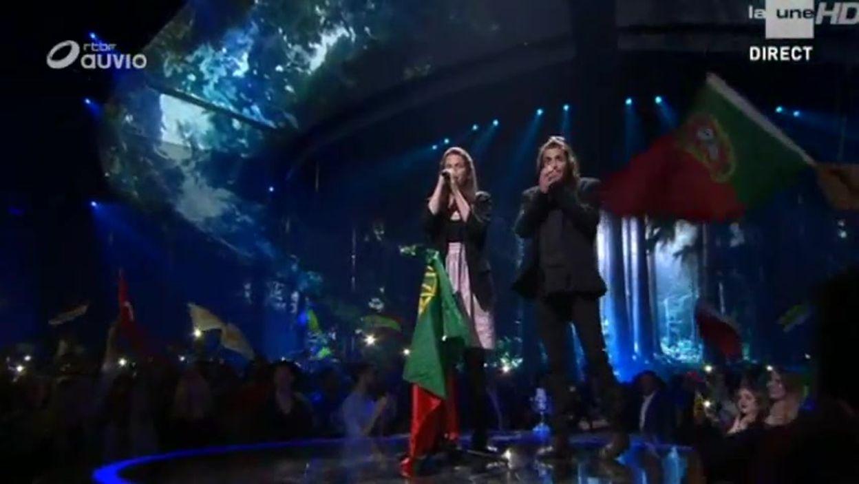 La prestation de Salvador Sobral, le gagnant du Concours Eurovision de la chanson