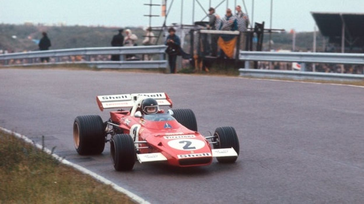 GP Pays-Bas 1971 : Jacky Ickx, sur Ferrari, l'emporte à Zandvoort