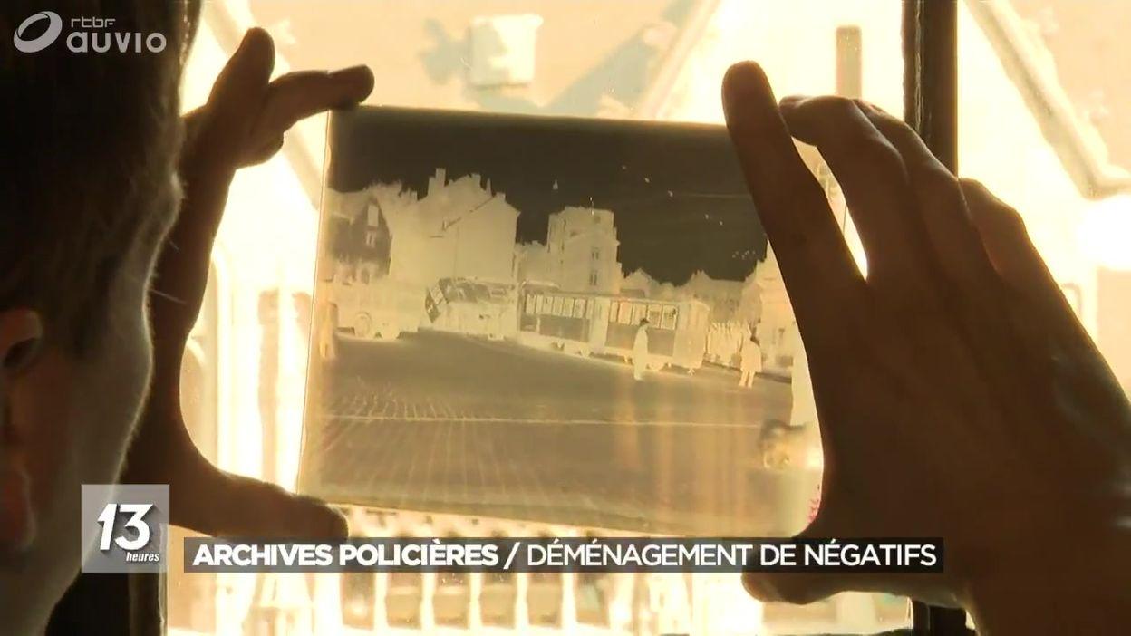 Archives policières : le déménagement des négatifs