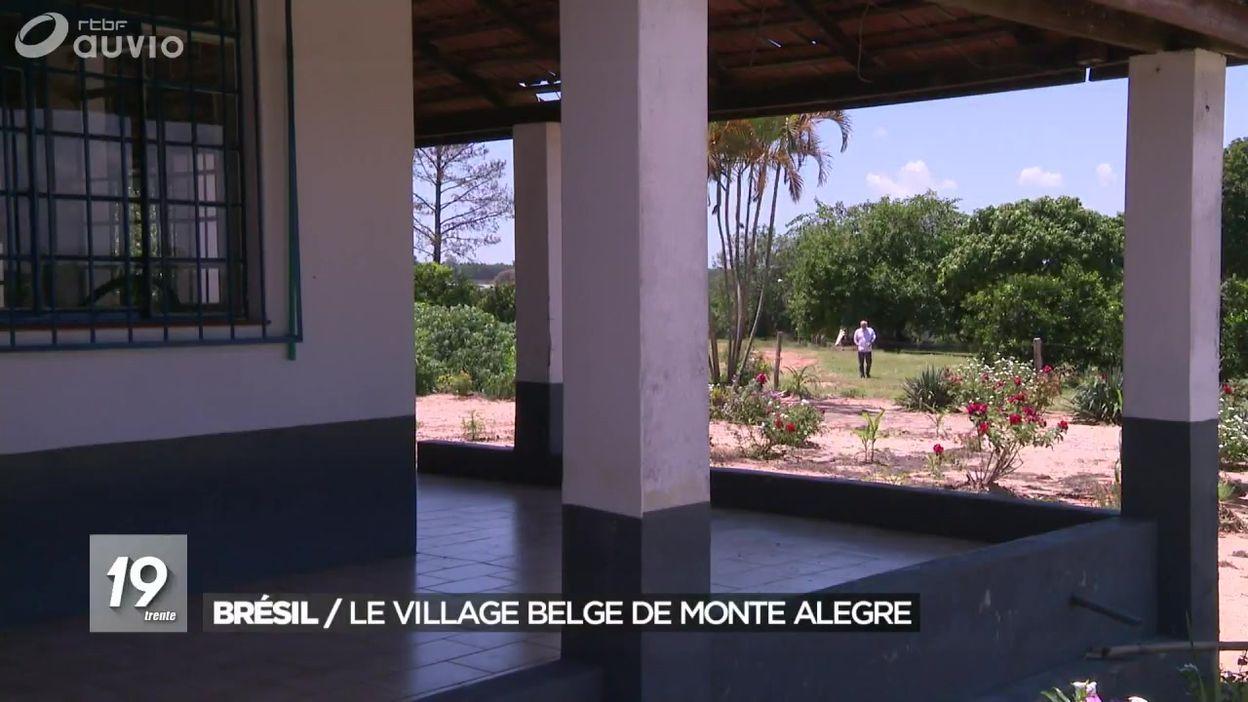 Brésil : le village belge de Monte Alegre