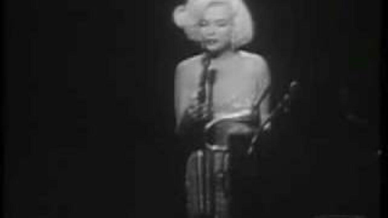 Marilyn Monroe Happy Birthday Mr President 18 11 2016