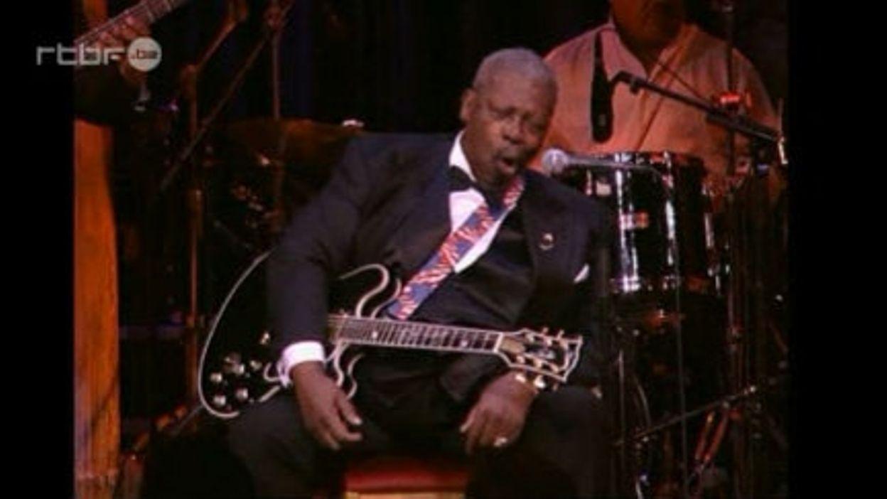 Le bluesman BB King honoré par le Roi de Suède en 2004