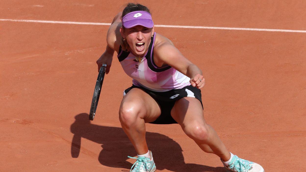 Roland-Garros : Elise Mertens s'extirpe du piège Diyas et rejoint le troisième tour