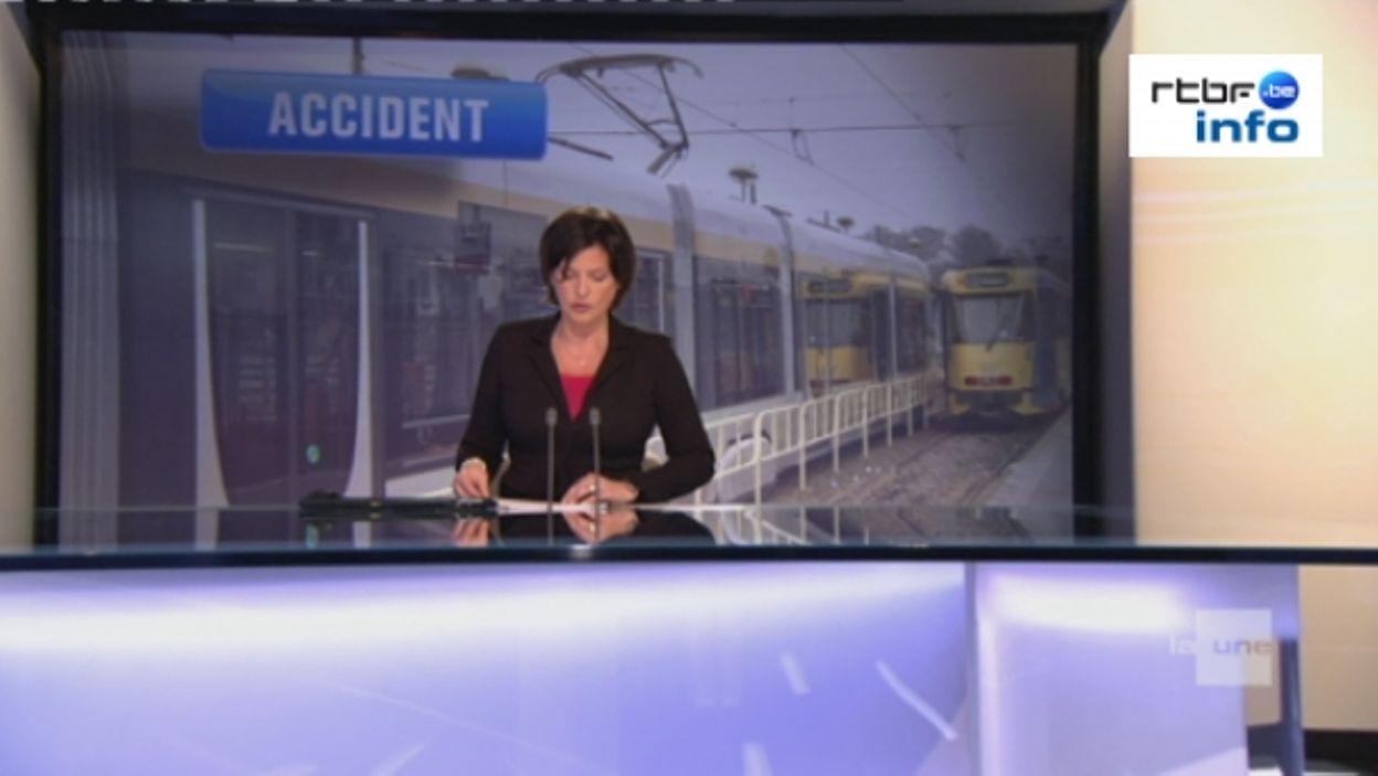 Bruxelles : accident entre un tram et un camion