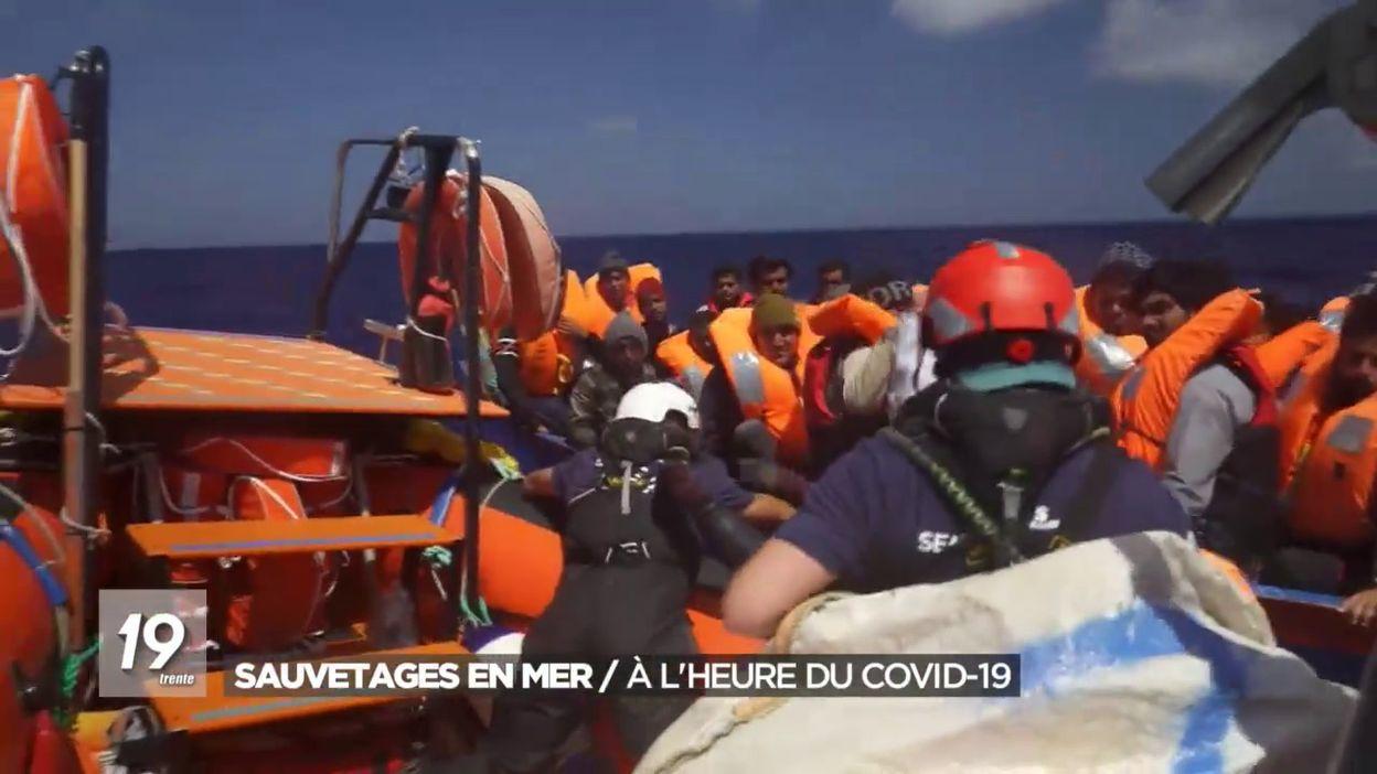 Sauvetages des migrants en mer : À l heure du Covid-19