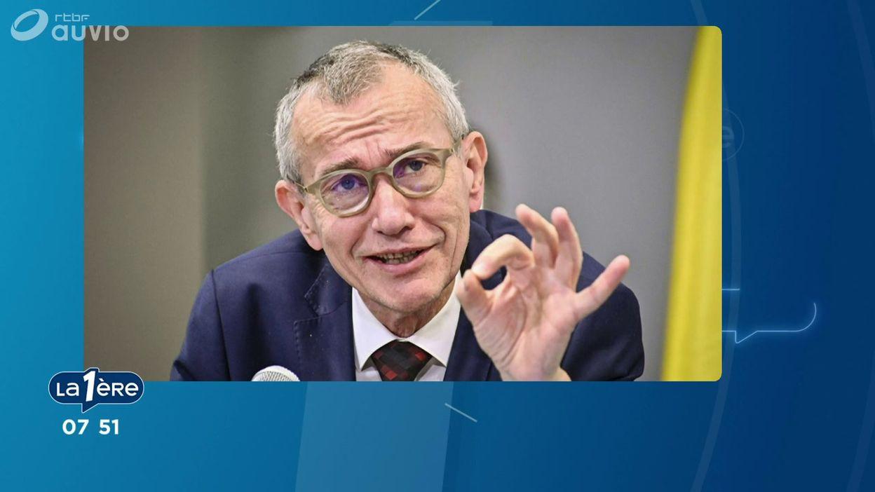 Frank Vandebroucke sur Matin Première