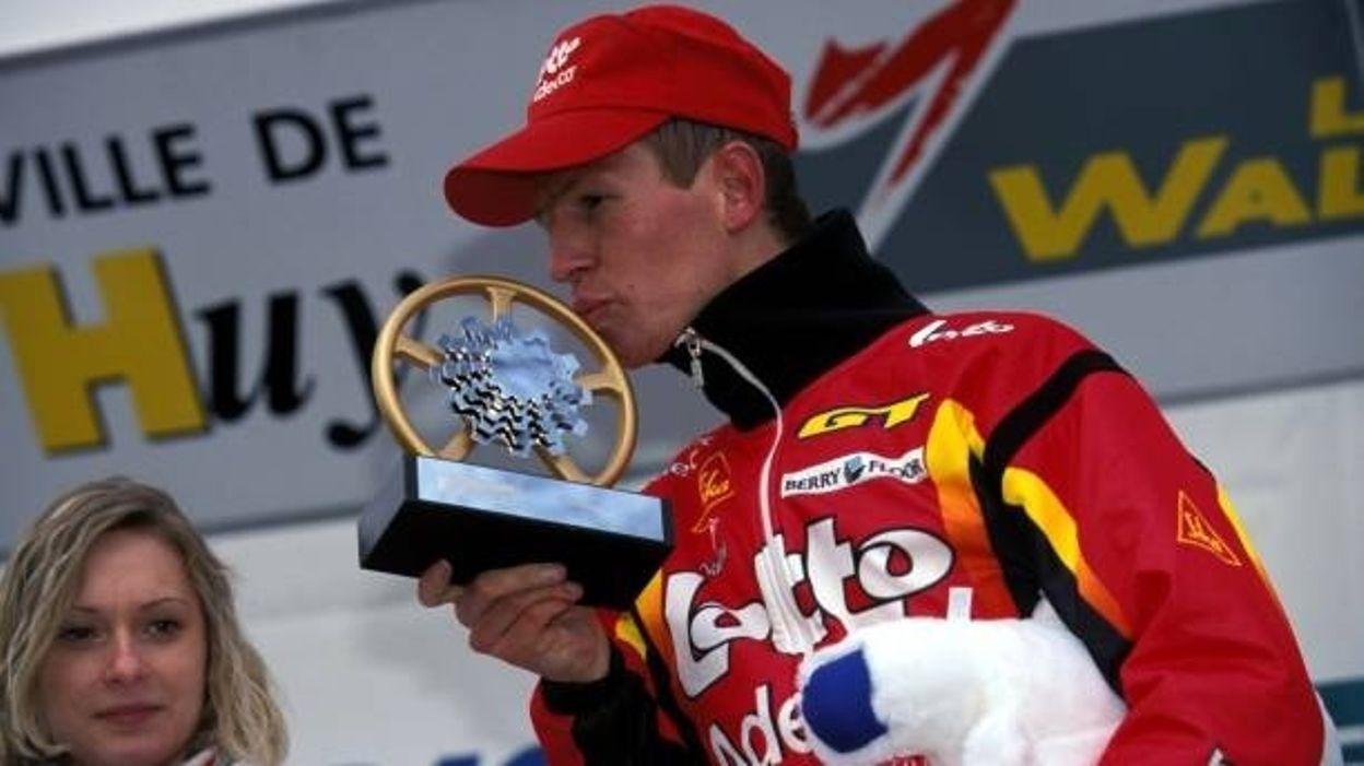 Flèche Wallonne 2001, victoire de Rik Verbrugghe