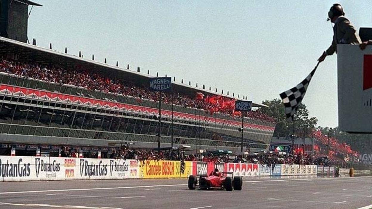 GP Italie 1996 : Schumacher et Ferrari font la joie des tifosi