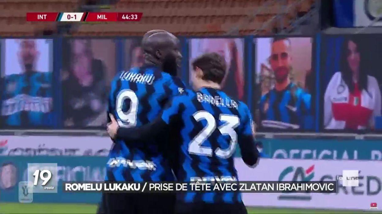 Lukaku se prend la tête avec Zlatan Ibrahimovic