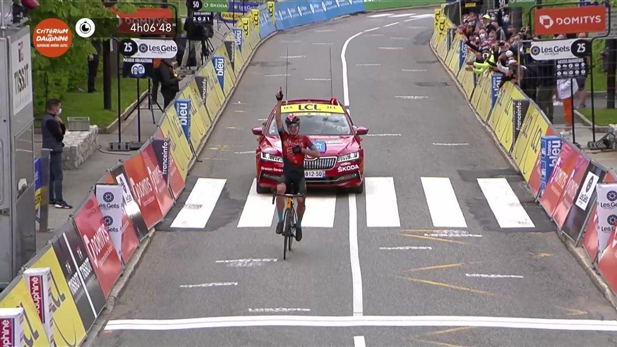 Critérium du Dauphiné: Padun s'impose au sommet des Gets, Porte remporte le général