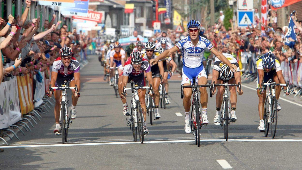 Tom Boonen remporte son premier titre de champion de Belgique à Aywaille