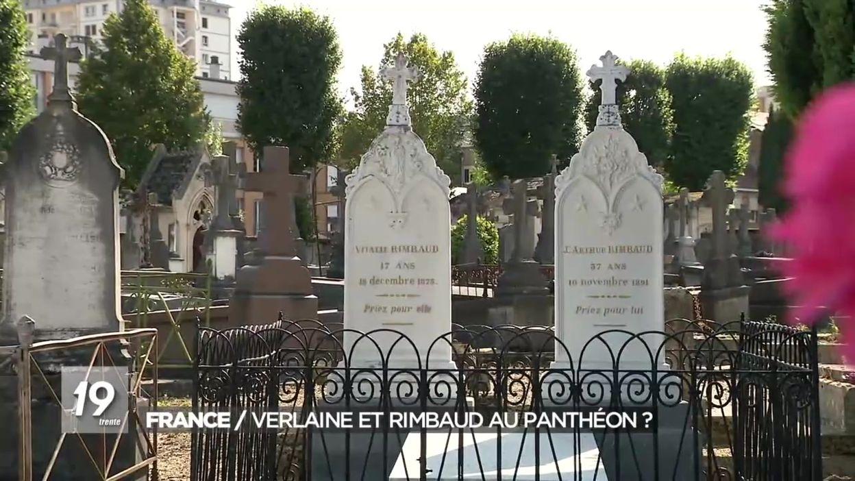 Rimbaud et Verlaine panthéonisés ensemble ?