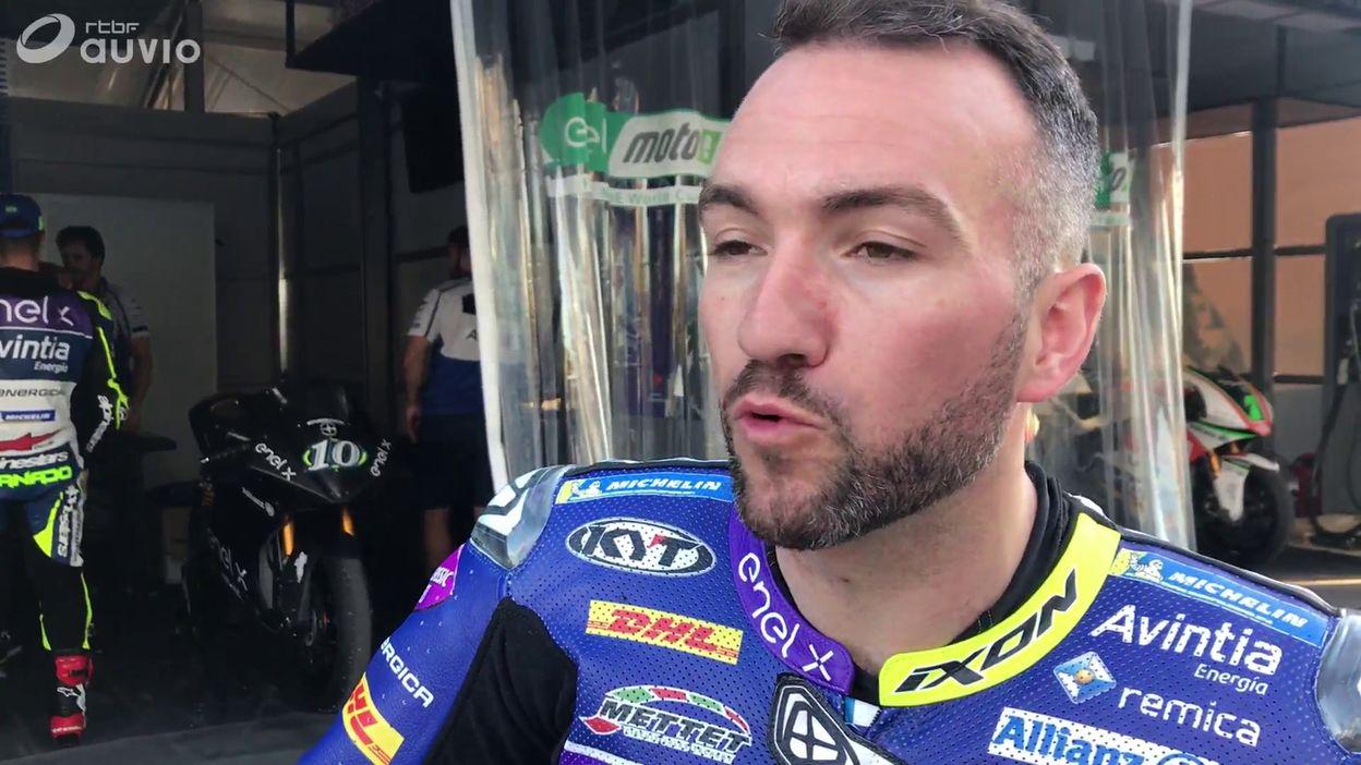 Réaction de Xavier Siméon après tests à Jerez