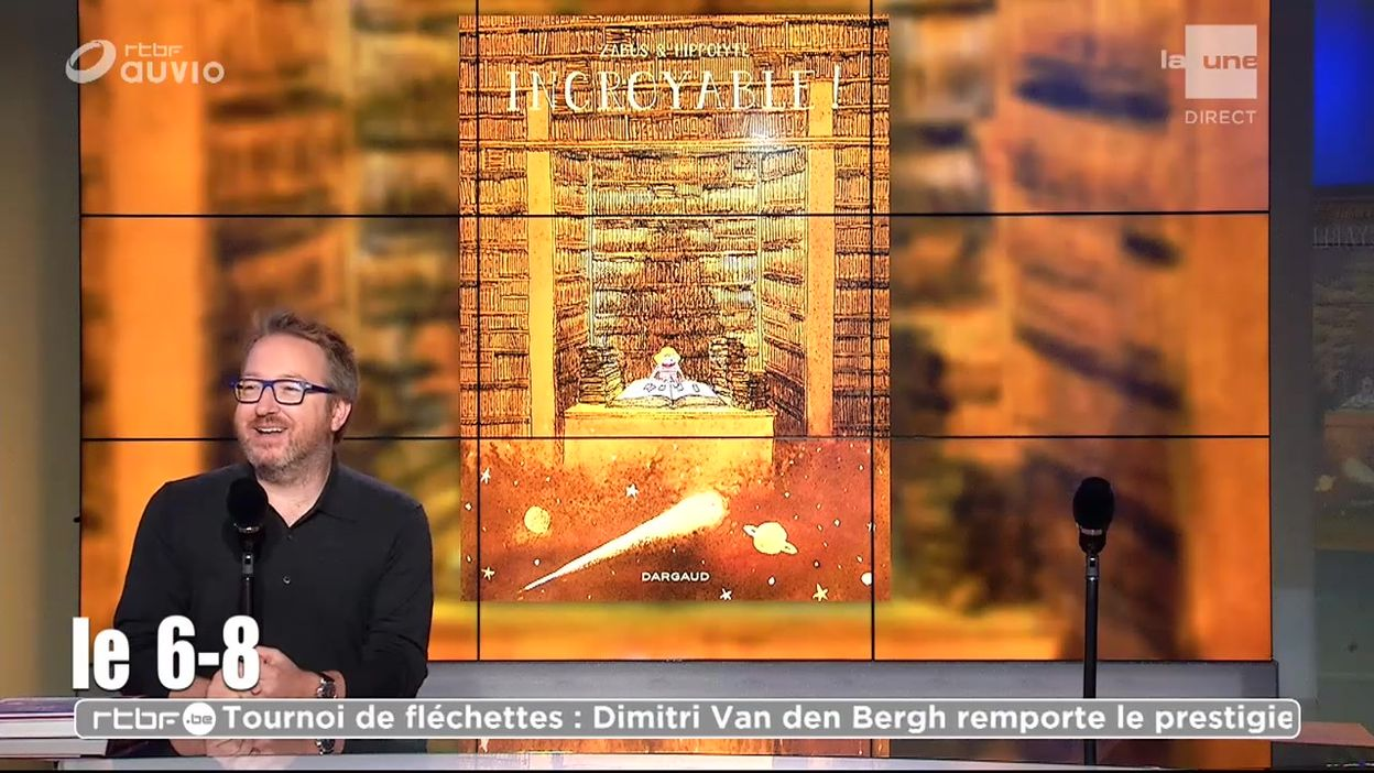 « Incroyable ! », une BD pleine de poésie et d'émotion