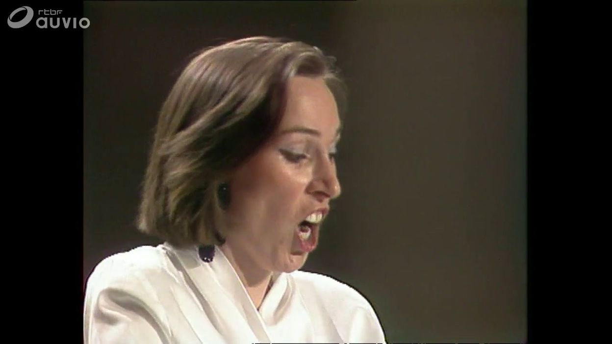 Queen Elisabeth 1992 - chant -  Catherine Vandevelde demi-finale