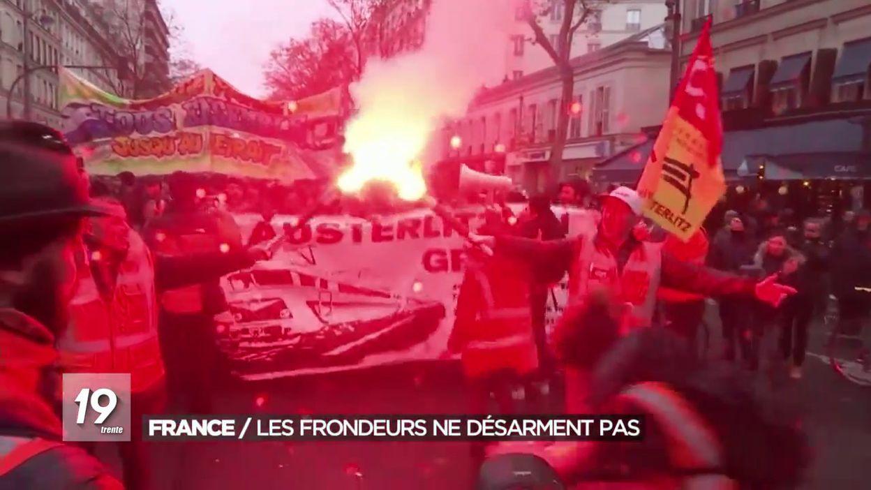Grèves en France: les frondeurs ne désarment pas