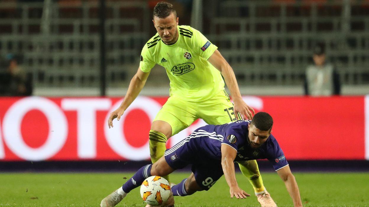Anderlecht - Dinamo Zagreb : 0-2