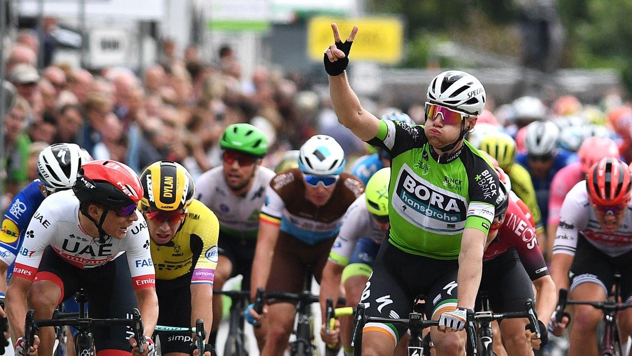 Doublé pour Sam Bennett, qui remporte la deuxième étape du Binckbank Tour
