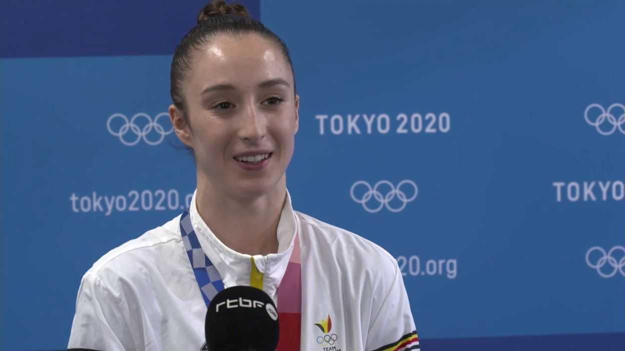 Nina Derwael, championne olympique :