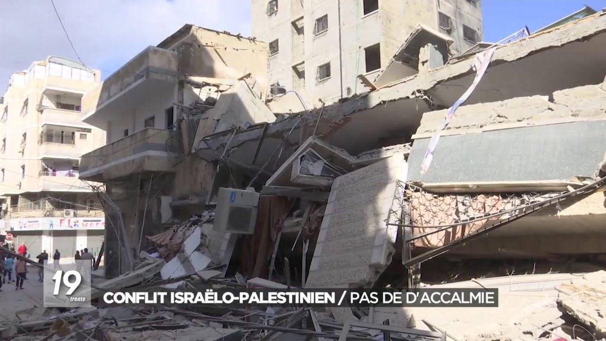 Conflit israëlo-palestinien / Pas de daccalmie