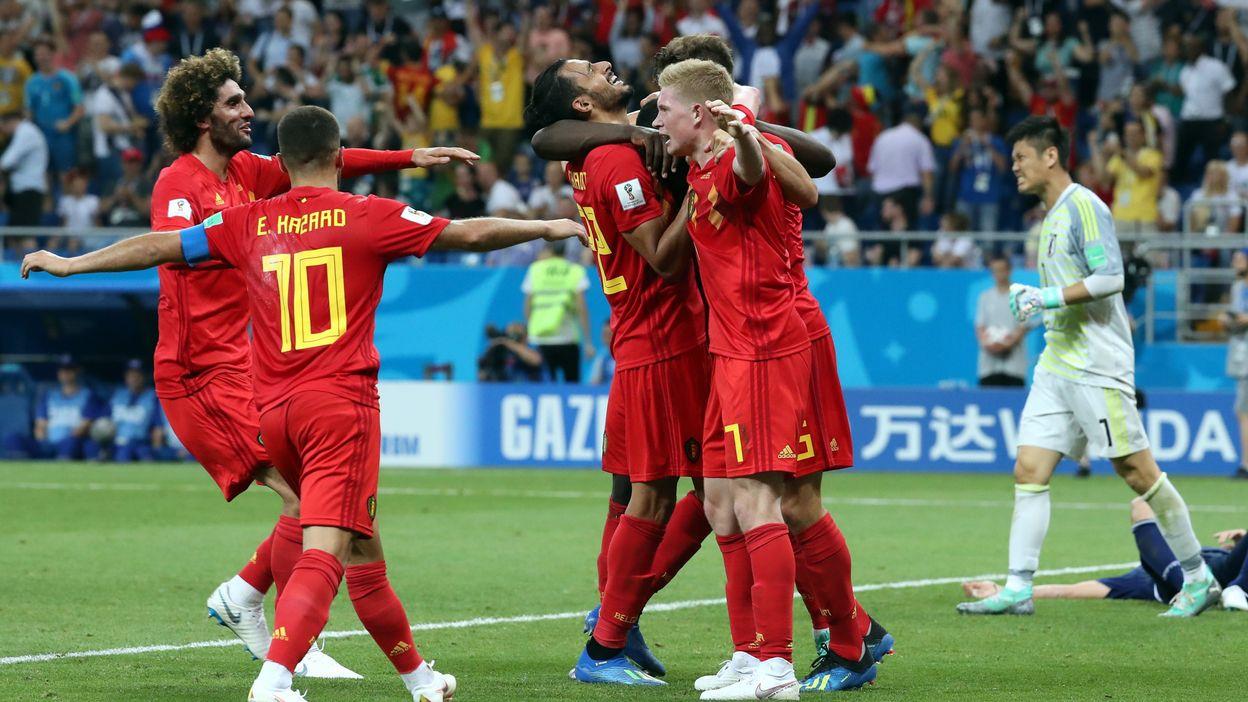 Belgique - Japon : 02 juillet 2018 (3-2)