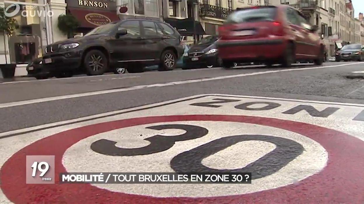 Bruxelles : la zone 30 va devenir la norme