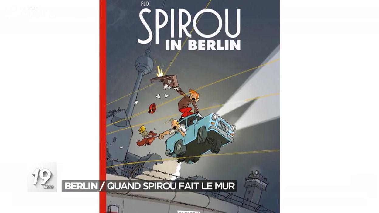 Berlin : quand Spirou fait le mur