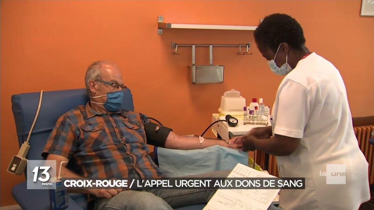 Croix-Rouge: l appel urgent aux dons de sang