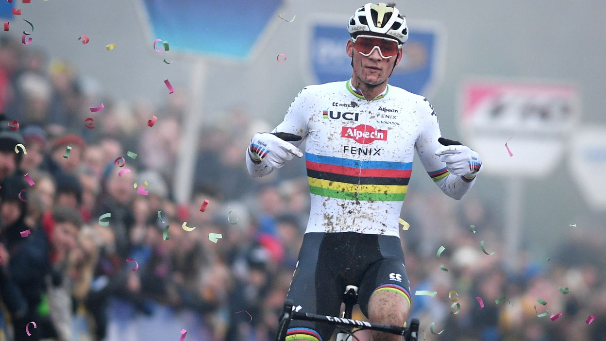 Cyclo-cross de Bruxelles : Van der Poel s'impose chez les messieurs
