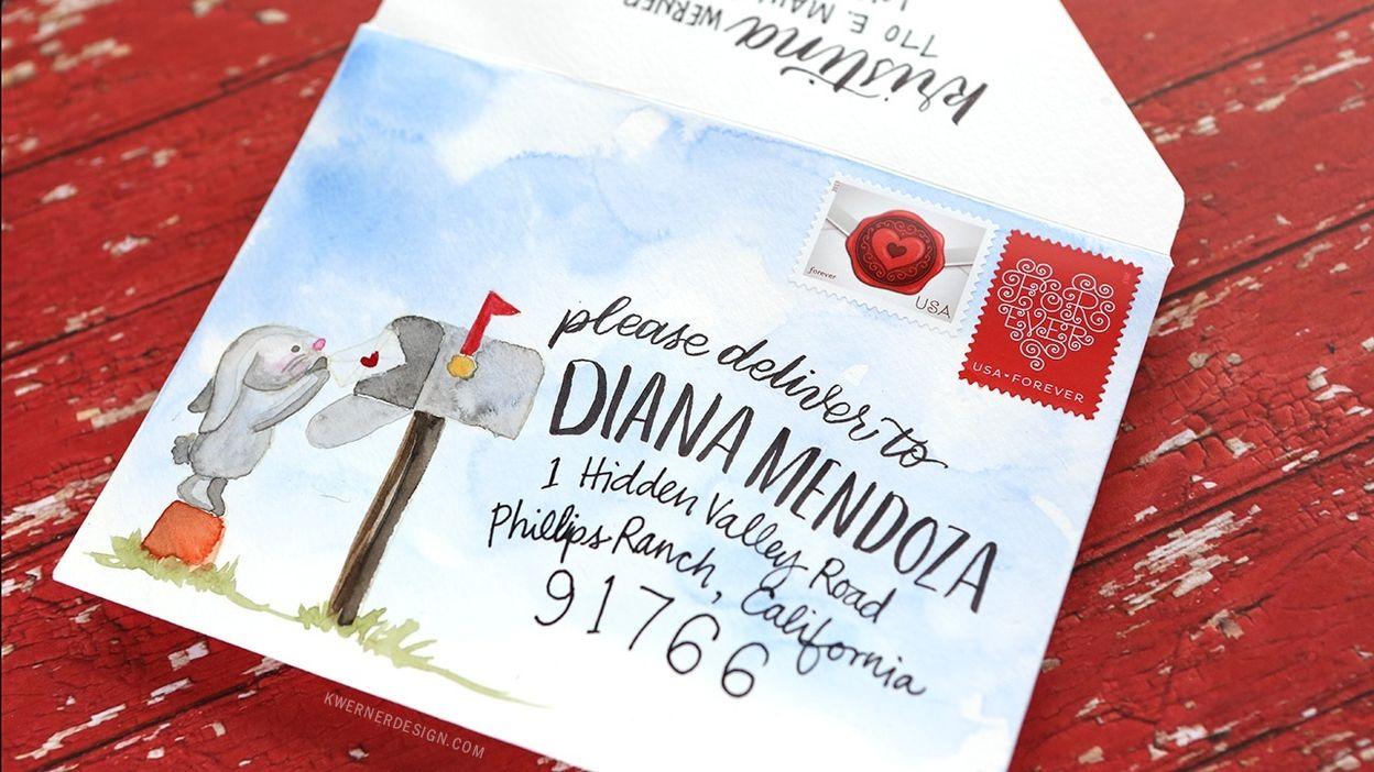 Dessin D Enveloppe peut-on dessiner sur une enveloppe avant de l'expédier ? - hainaut