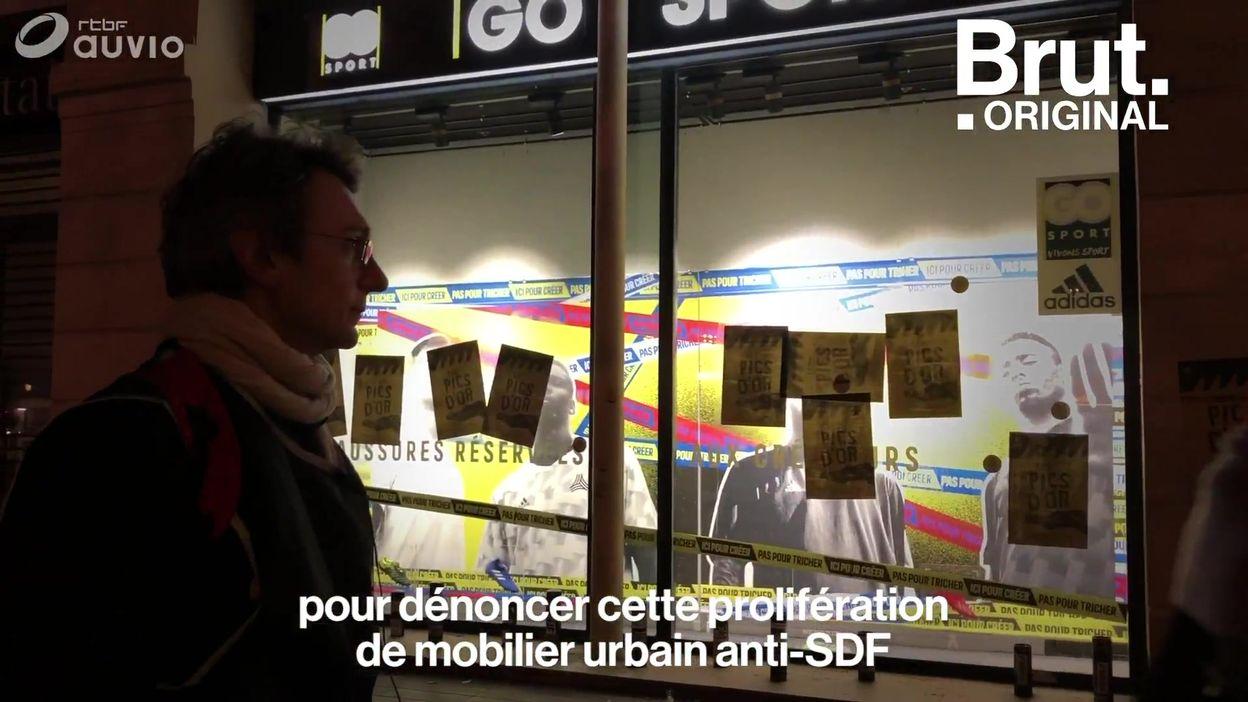 La Fondation Abbé Pierre récompense les pires mobiliers urbains anti-SDF