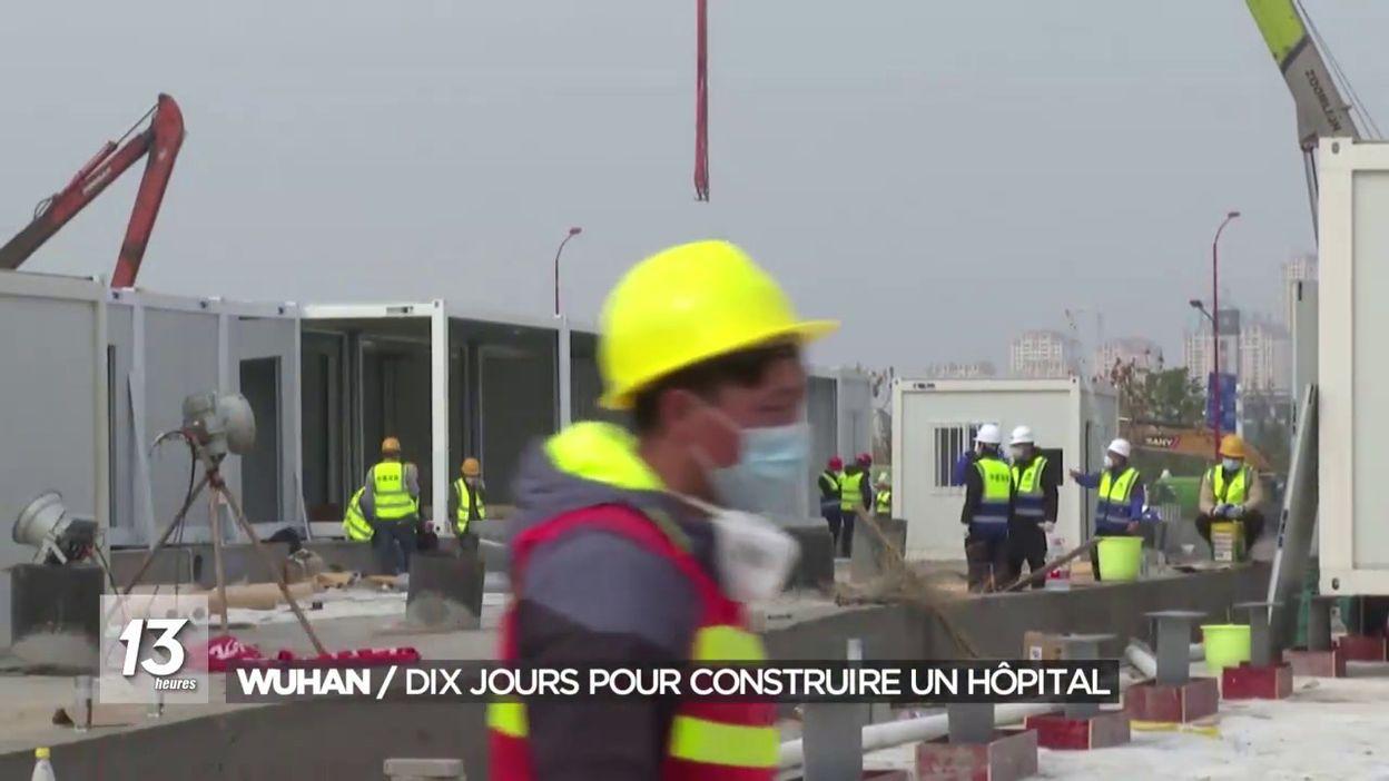 Wuhan : Dix jours pour construire un hôpital