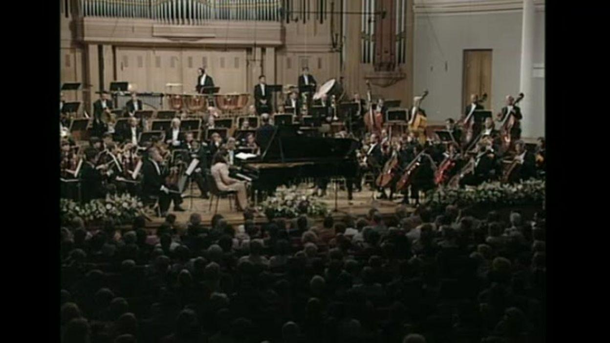 Queen Elisabeth 1995 - piano  - Yuliya Gorenman – Finale – Concerto n.3 de Prokofiev