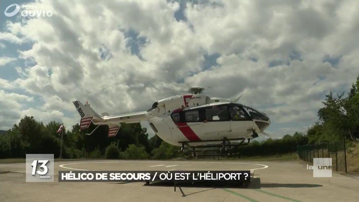 Les hélicoptères privés d'atterrissage dans certains hôpitaux