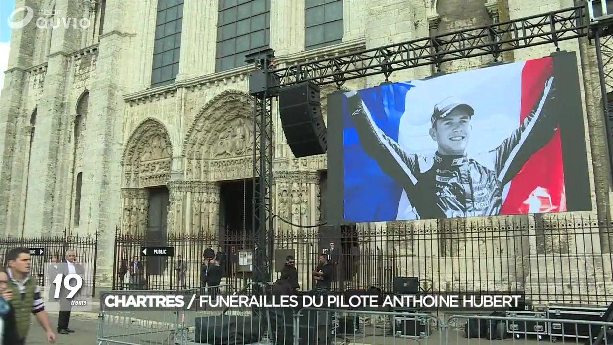 Funérailles d'Anthoine Hubert, le pilote de formule 2