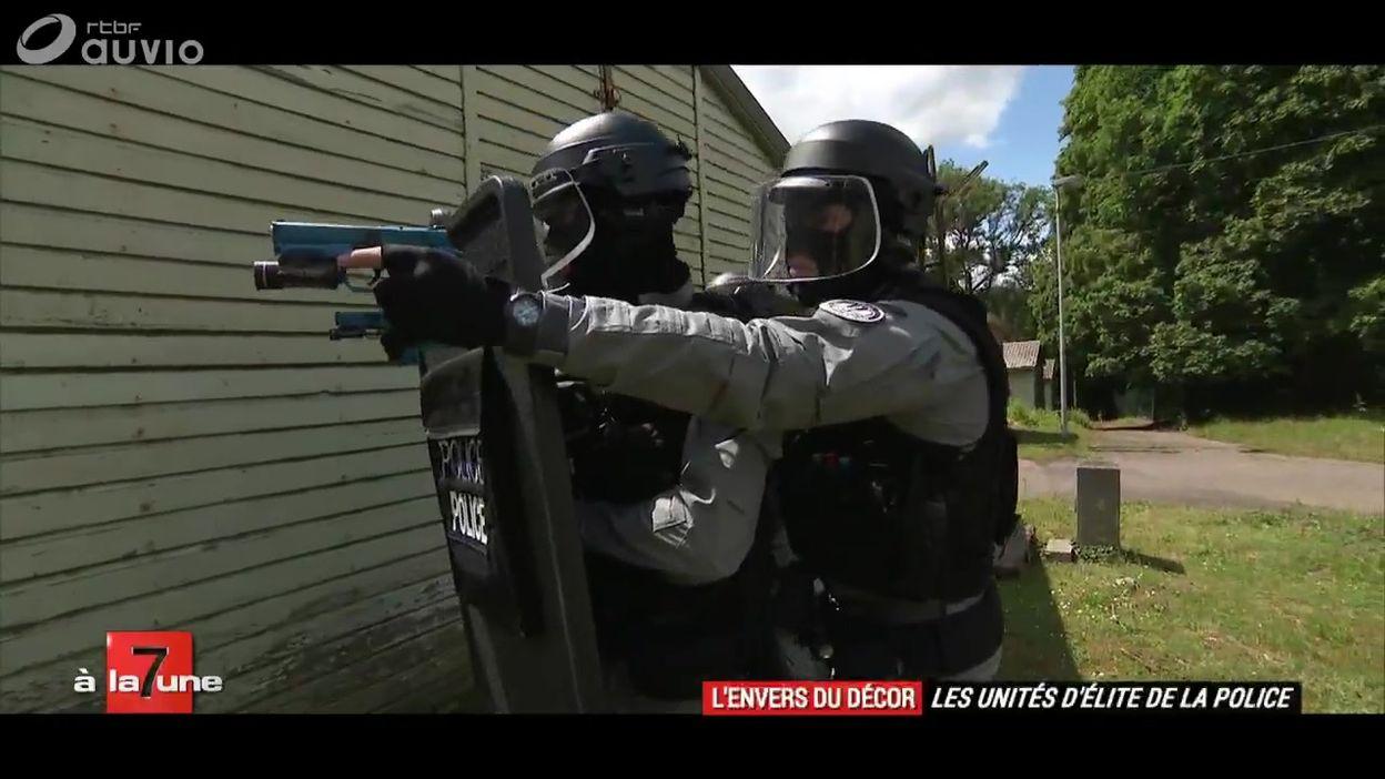 Les unités d'élite de la police