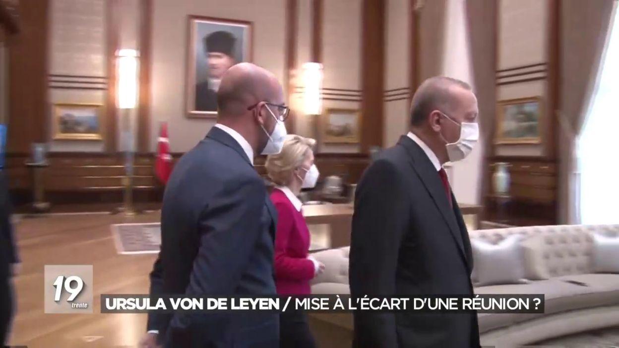 Ursula Von der Leyen : Mise à l écart d une réunion?