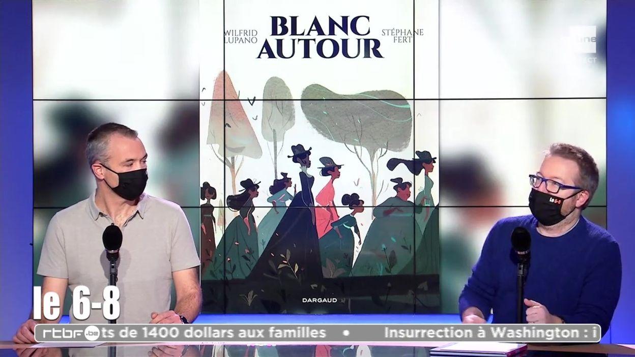 Focus sur la BD « Blanc autour » basée sur une histoire vraie