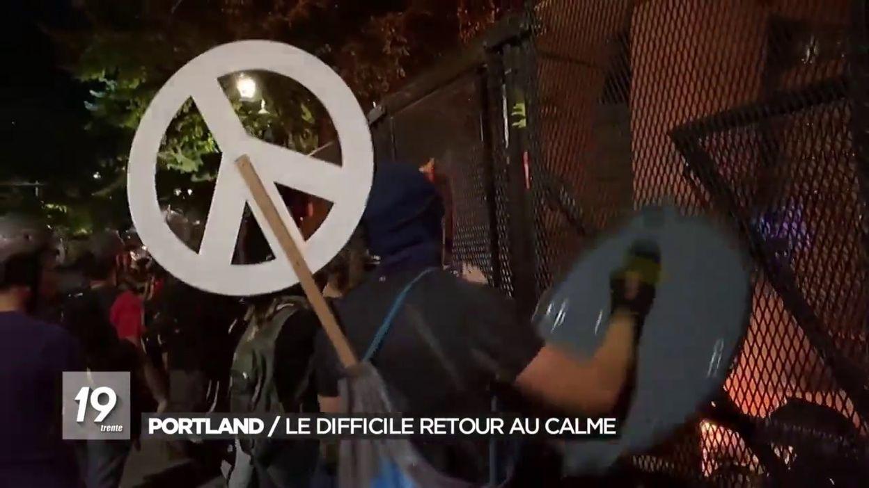 Portland: le difficile retour au calme