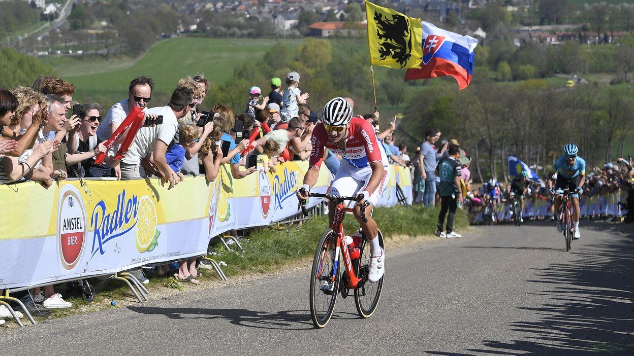 Mathieu Van der Poel remporte l'Amstel Gold Race