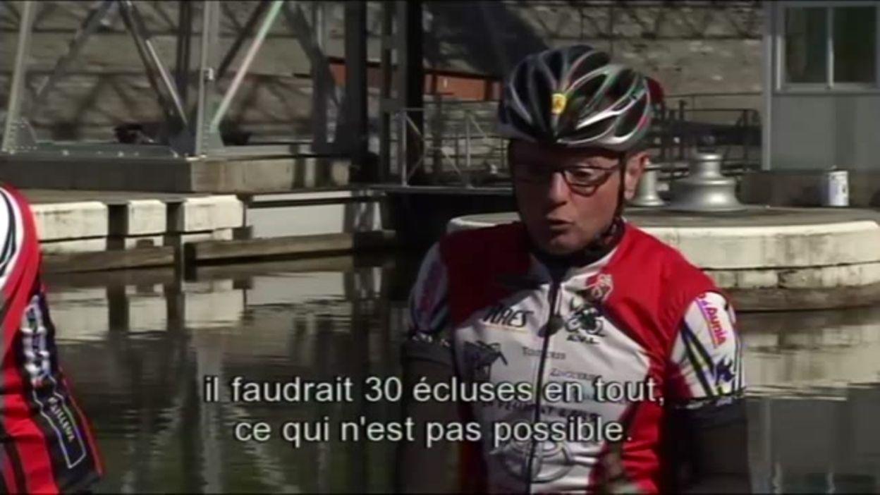 Suivez le guide en wallon... et à vélo