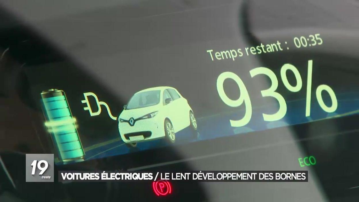Voitures électriques : Le lent développement des bornes de recharges