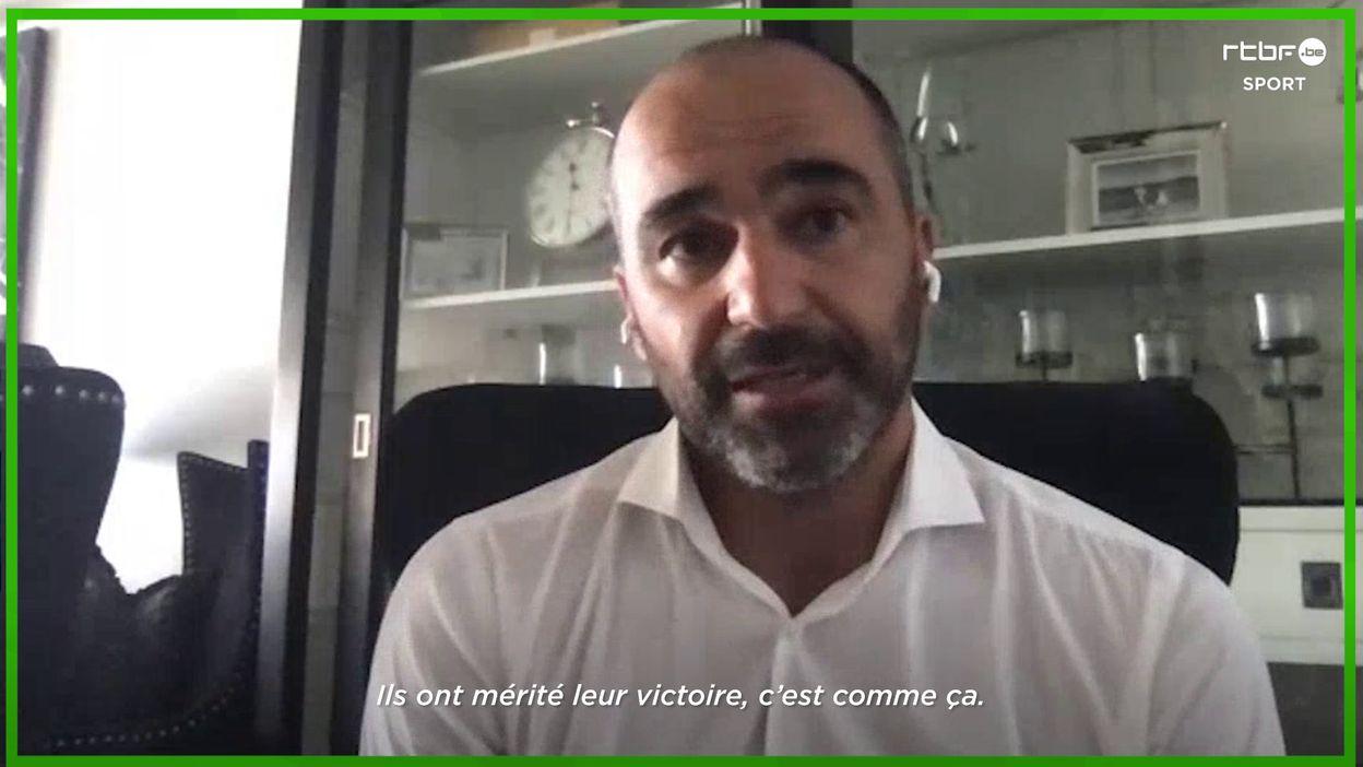 Martinez à propos de Belgique-France