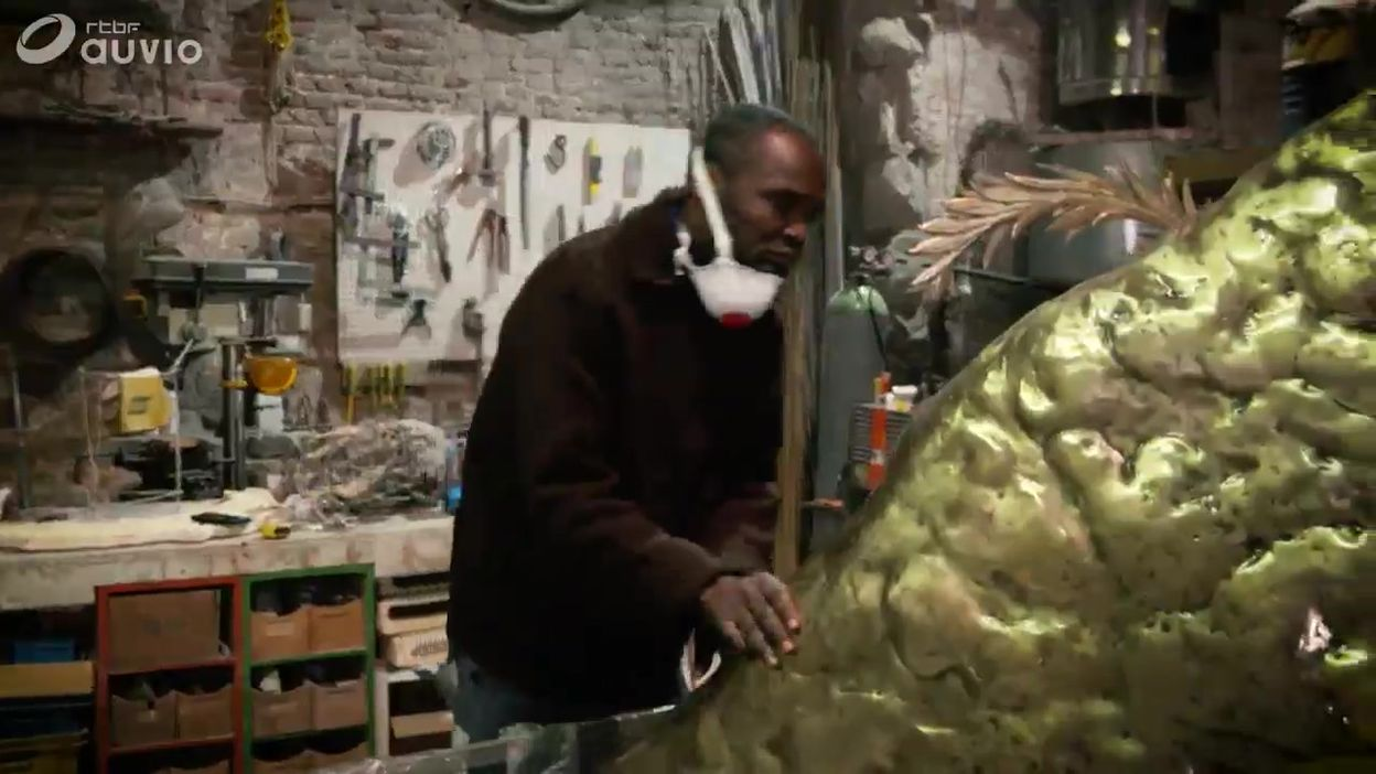 Un sculpteur au cœur de l'AfricaMuseum